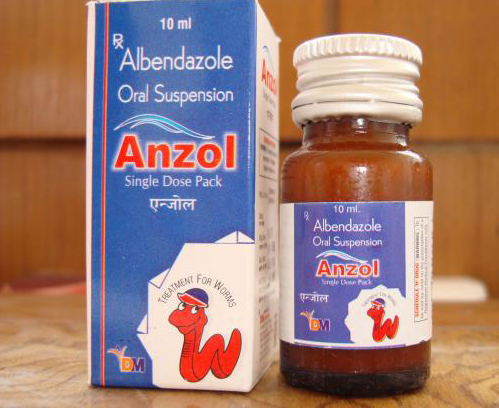 Albendazole Dosage For Worms