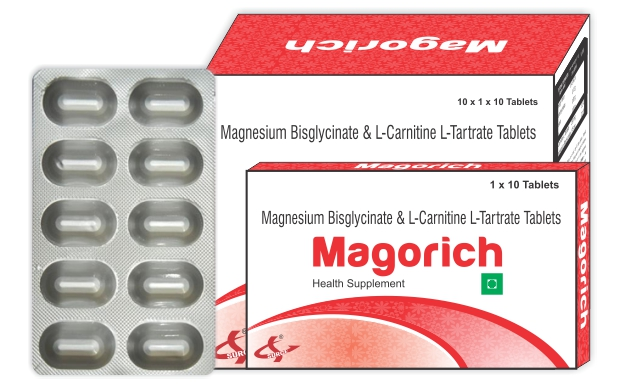 Alaina Pharma-Magnesium Bisglycinate and L-Carnitine L